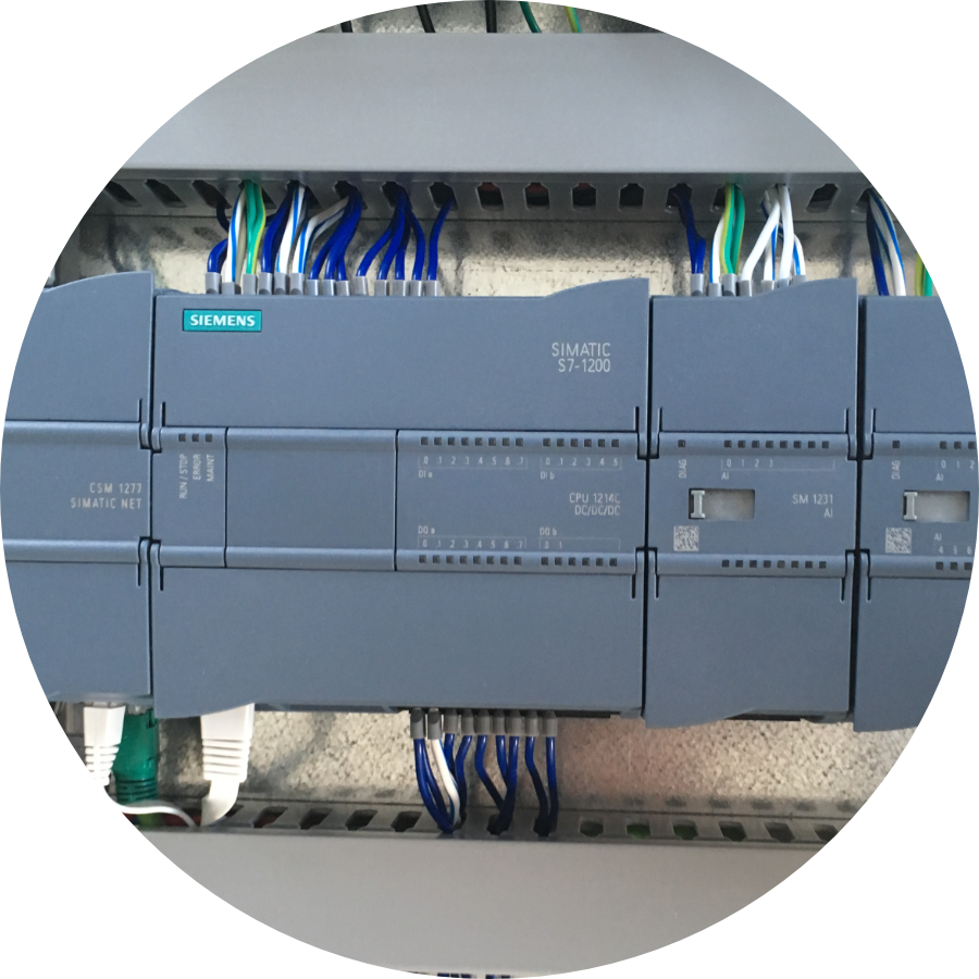 Simatic S7-1214 DC/DC/DC Switchboard